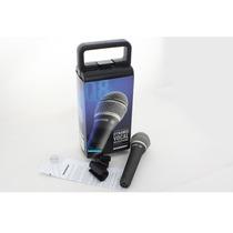 Microfone Samson Q8 Dinâmico Supercardioide Com Fio Original