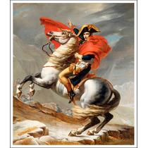 Lienzo Tela, Napoleón 1802, Jacques Louis, 62x74 Cm.
