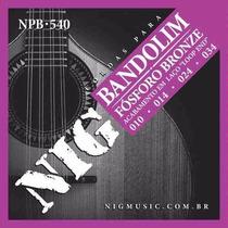 Encordoamento Nig Para Bandolim - Fosforo - Cordas Npb540