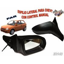 Espejos Laterales Para Chevy Control Manual Es143