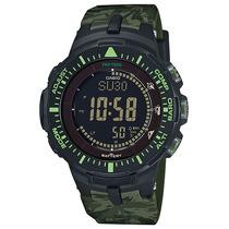 Relógio Casio Protrek Prg-300cm-3dr Sensor Triplo