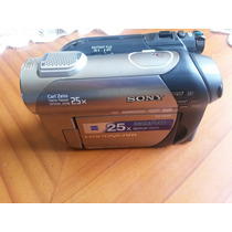 Cámara De Video Sony Dcr-dvd308, Zomm Óptico 25x Mini Dvd