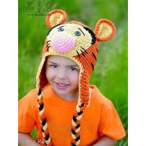 Gorritos Winnie Pooh Tigger Burro Pig Tejidos Bebes Niños
