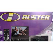 Dvd Retratil H Buster Hbd-9820 Tela 7 Com Tv. Ler Descriçao