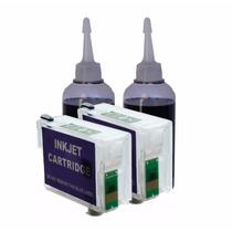 Cartucho Recarregável K101 - K301 Double Com 200ml De Tinta