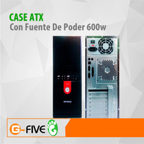 Case Atx Con Fuente De Poder 600w