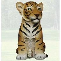 Hermoso Tigre Cachorro De 29 Cm