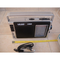 Bocina Lax-max Multibanda Am/fm/sw 1-9 Usb Li-r1412