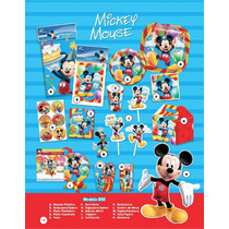 Arma Tu Paquete De Desechables Para Fiesta Infantil Mickey
