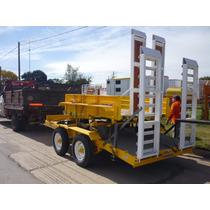 Acoplado Carreton Bobcat Palas Hidroelevador Para 5 Tn