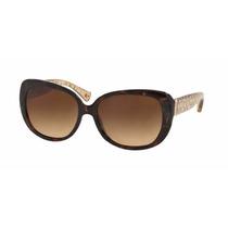 Lentes Gafas Coach Cafe Cristal Hc8076 515213 Original