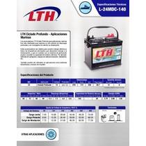 Batería Lth Solar / Fotovoltaica 80ah