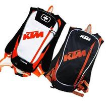 Mochila De Hidratación Ktm Racing 2 Litros Blanco O Negra