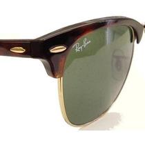 Rayban 3016 Clubmaster Armação Tartaruga L. Verde