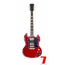 Guitarra Sg Michael Gm850 Hammer Vermelha (envio Nota Fiscal