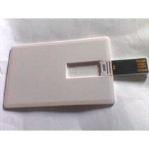 Pen Drive 8gb Cartão Pen Card Liso Para Sublimação Transfer