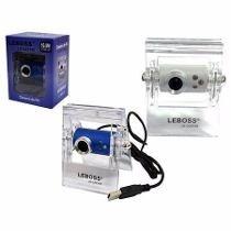 Web Cam Leboss 16.0m Pixels Com Leds E Microfone Embutido