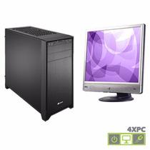 Computadora Intel 2gb Disco 250gb Monitor 18.5 19 Nuevas