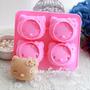 Molde De Silicona #1 Hello Kitty Cupcakes, Hielo, Chocolate