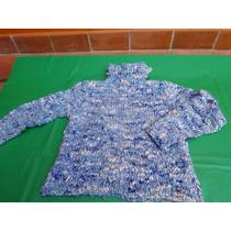 Sweater Rustico Tejido A Mano Lindo!!!