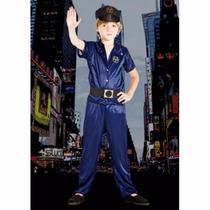 Disfraz De Policia Nene Con Sombreo Candela