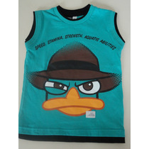 Remera Perry Phineas & Ferb Original Disney Talle 4