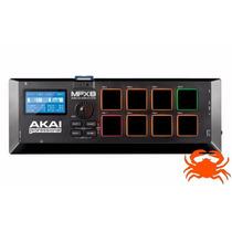 Akai Mpx8 Sample Player Portátil Pads Sd Card Novo Garantia