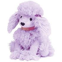 Ty Beanie Babies - Demure Purple Poodle Cachorro De Perro