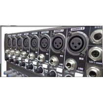 Consola Moon Mc16usb Mixer 16 Canales Usb Mp3