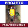 Projeto Compressor De Ar Comprimido Caseiro Super Facil