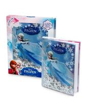 Diario Frozen Oficial Disney Original Shake & Snow Diary