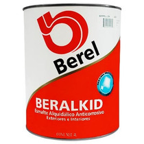 Pintura Esmalte Beralkid Bermellon (1 Galón) Berel