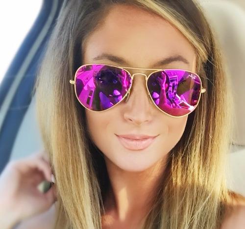 gafas de aviator ray ban mujer
