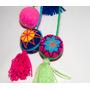 Colgantes Crochet + Fieltro