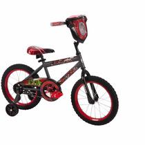 Bicicleta Infantil Con Rueditas Huffy R16 Avengers