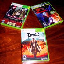 Lote 3 Vj Devil May Cry Hd Collection 4 Dmc Xbox 360 Nuevos