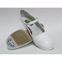 Zapato Para Danza Folklorica 100% Piel Del 22 Al 25