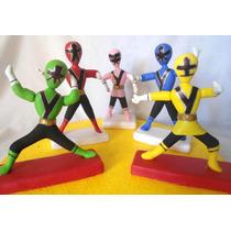 Adorno Para Torta Power Rangers; Mickey, Angry Birds, Buzz