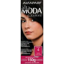 Alfaparf Alta Moda E Colore N° 4 Castaño Medio X 150 Gr