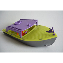 Lancha Sport Yate - Bote De Juguete Escala Tipo Antiguo