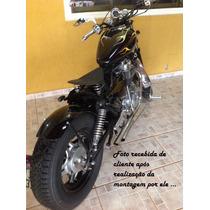 Paralama Customização Bobber Honda Cb 400 450 750 Chopper
