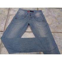 Calça Jeans Feminina Da T R G Nº 36 - Semi Nova