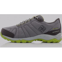 Zapatillas Columbia Firecamp Wp Trail Hombre Impermeables