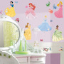 Calcomanias Pared Cuarto Princesas De Disney Pega Facil