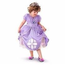Vestido Infantil Fantasia Princesa Sofia - Pronta Entrega -