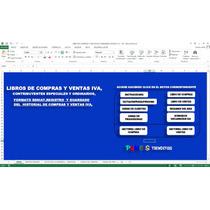 Libros De Compras Y Ventas Iva Formato Seniat,en Excel