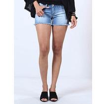 Shorts Jeans Feminino Denuncia Stone