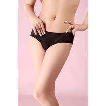 Bikini Negro Unisex. La Textura Mas Suave Y Transparente.
