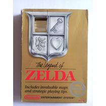 The Legend Of Zelda Nes Caja Nintendo Cartucho Dorado