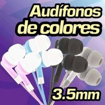 Paquete Con 10 Audifonos Super Bass Universales 3.5 Celular